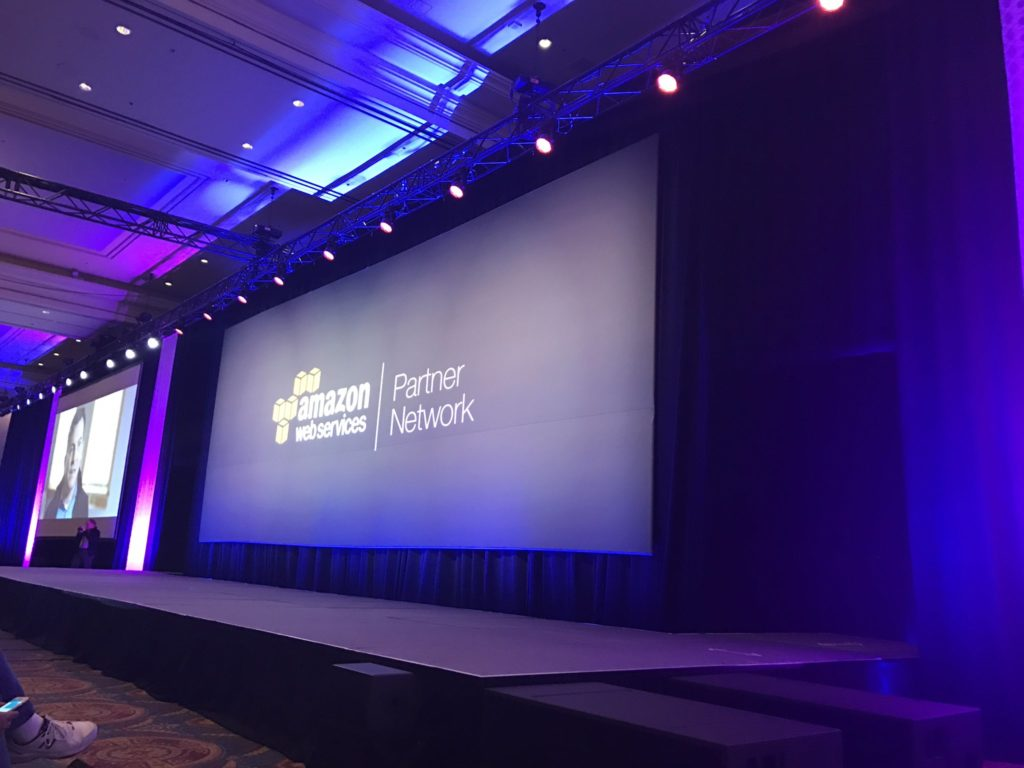 AWS re:Invent 2016 -  Partner Summit keynote Impressions