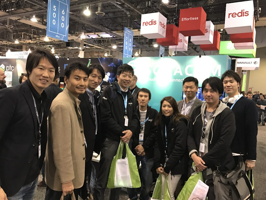 【re:Invent 2016】展示ブースツアーを開催しました!! #reinvent