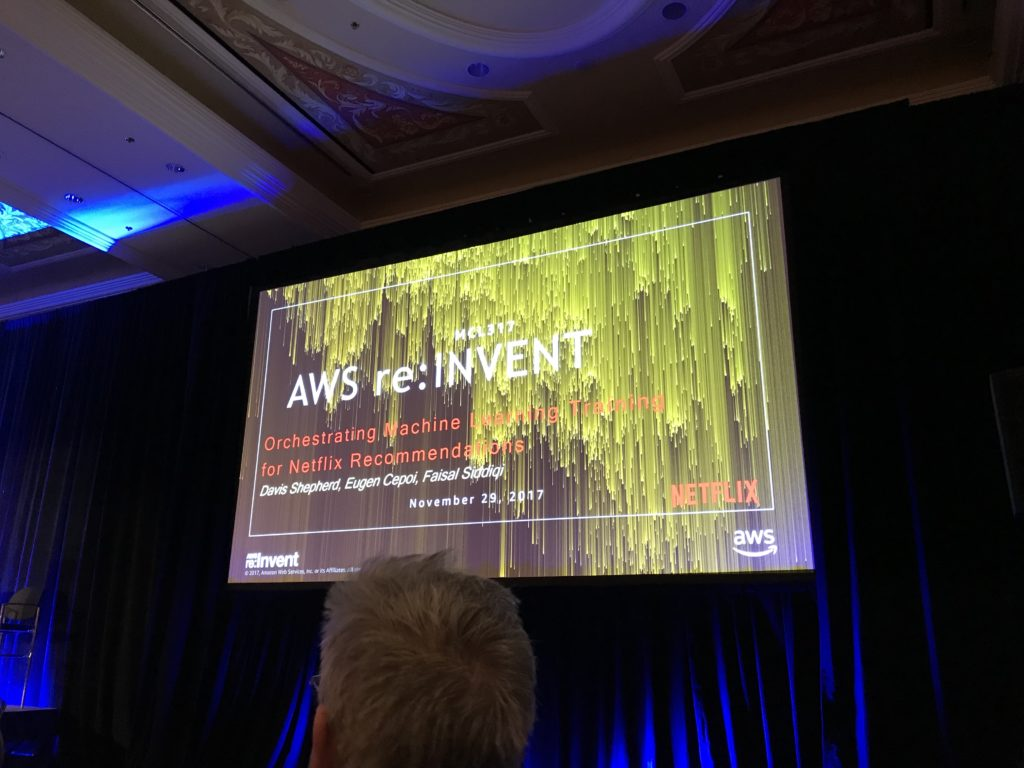 【re:Invent2017】Orchestrating Machine Learning Training for Netflix Recommendations
